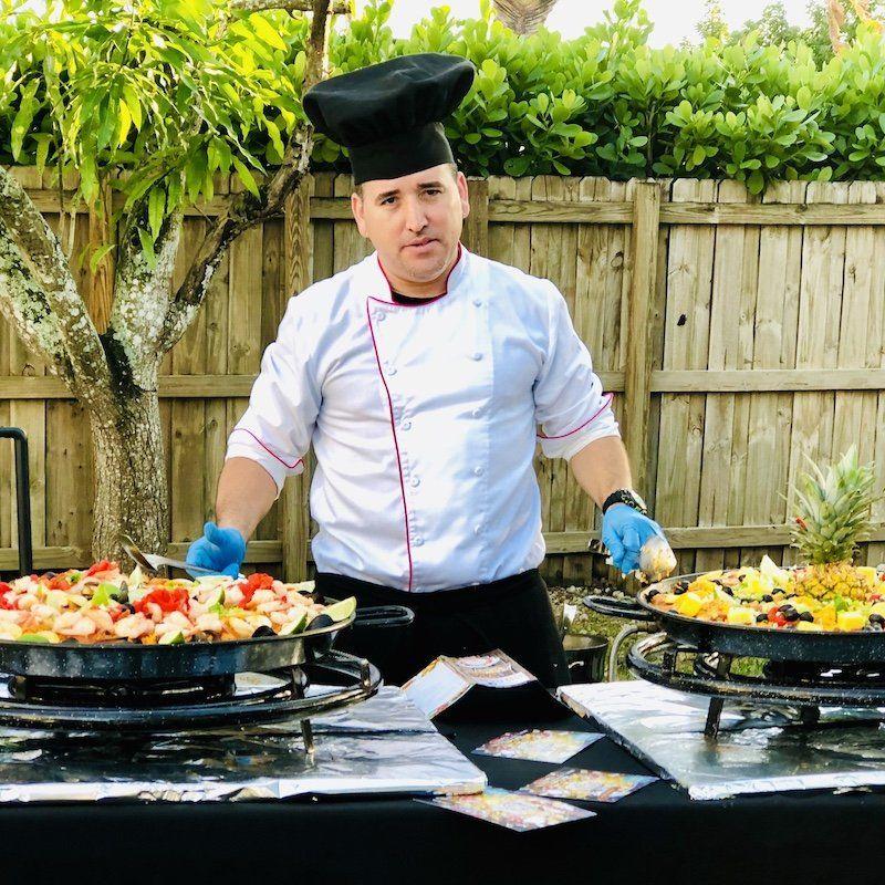 paella catering miami